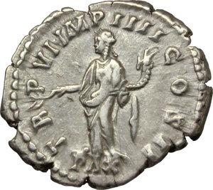 reverse: Lucius Verus (161-169).. AR Denarius