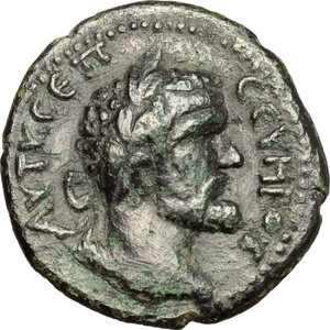 obverse: Septimius Severus (193-211).. AE 22 mm. Anchialus mint, Thrace
