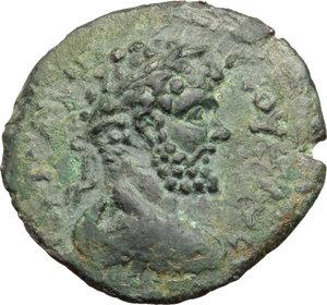 obverse: Septimius Severus (193-211) with Julia Domna. AE 28 mm. Laodicea ad Mare, Seleucis and Pieria, Syria