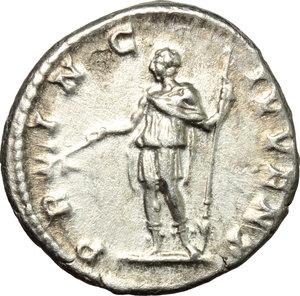 reverse: Geta as Caesar (198-209).. AR Denarius