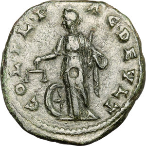 reverse: Diadumenian (218 AD).. AE 24 mm. Deultum mint, Thrace