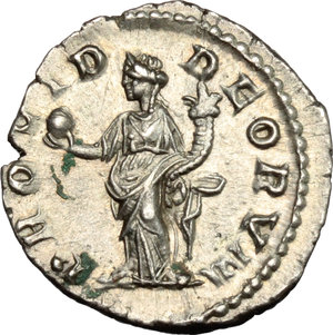 reverse: Elagabalus (218-222).. AR Denarius, Rome mint