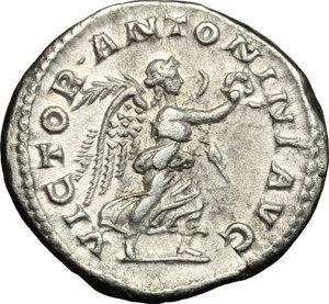 reverse: Elagabalus (218-222).. AR Denarius, 219 AD