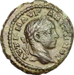 obverse: Elagabalus (218-222).. AE 16 mm. Marcianopolis mint, Moesia Inferior
