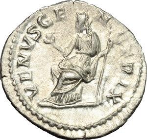reverse: Iulia Paula, wife of Elagabalus (218-222).. AR Denarius, Antioch mint, c. 219-220 AD