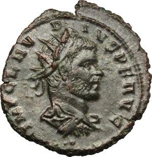 obverse: Claudius II Gothicus (268-270).. BI Antoninianus, circa 269 AD. Cyzicus mint