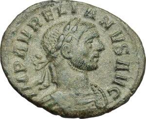 obverse: Aurelian (270-275).. BI Denarius