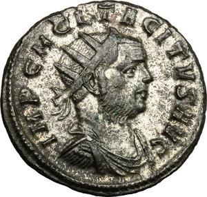 obverse: Tacitus (275-276).. BI Antoninianus, Ticinum mint