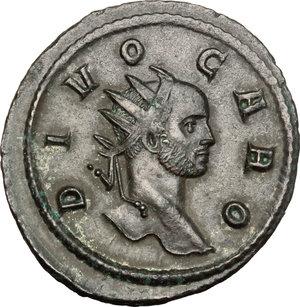 obverse: Carus (282-283).. BI Antoninianus, Rome mint, 284 AD