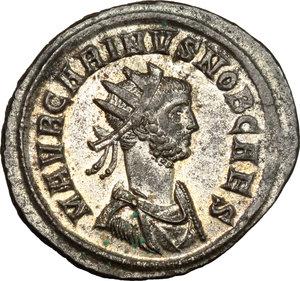 obverse: Carinus as Caesar (282-283).. BI Antoninianus, Rome mint
