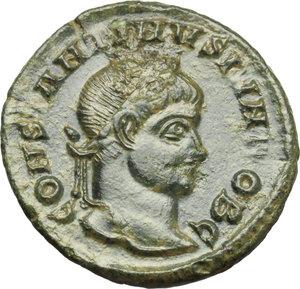 obverse: Constantine II (337-340).. AE Follis, Siscia mint