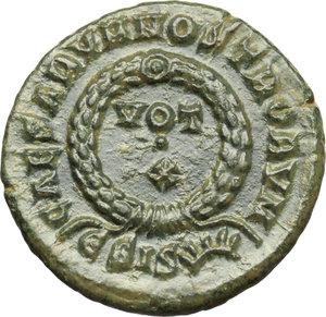 reverse: Constantine II (337-340).. AE Follis, Siscia mint