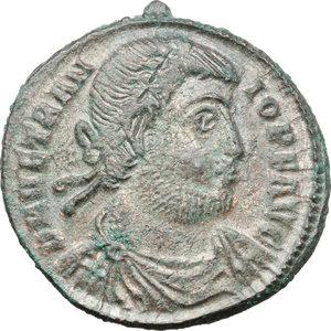 obverse: Vetranio (350 AD).. AE Centenionalis, Thessalonica mint