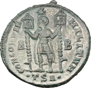 reverse: Vetranio (350 AD).. AE Centenionalis, Thessalonica mint