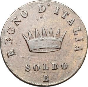 reverse: Bologna.  Napoleone (1805-1814). Soldo 1808 B