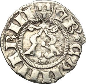 obverse: Camerino.  Governo Popolare (1434-1444).. Bolognino, Emiliano Orfini maestro di zecca