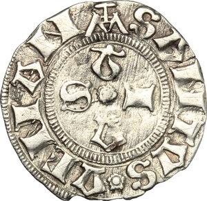 reverse: Camerino.  Governo Popolare (1434-1444).. Bolognino, Emiliano Orfini maestro di zecca