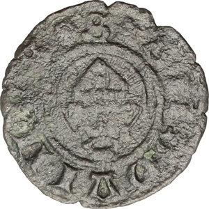reverse: Camerino.  Governo Popolare (1434-1444).. Picciolo
