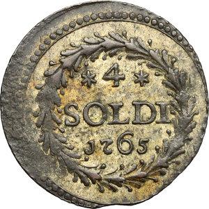 reverse: Corte. 4 Soldi 1765