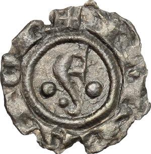 obverse: Cremona.  Comune (1155-1330). . Denaro imperiale