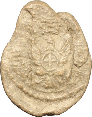reverse: Cuneo. Sigillo doganale MERCI FORESTIERE. Periodo di Vittorio Amedeo III o di Carlo Emanuele IV