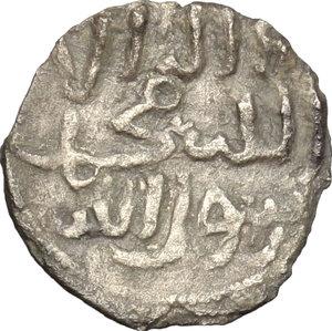 reverse: Entella.  Muhammad Ibn  Abbad (1220). Denaro