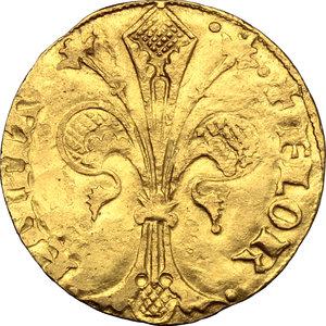 obverse: Firenze.  Repubblica (Sec. XIII-1532). Fiorino d oro largo, 1428/I Guccio di Andrea da Sommaia