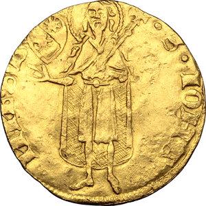 reverse: Firenze.  Repubblica (Sec. XIII-1532). Fiorino d oro largo, 1428/I Guccio di Andrea da Sommaia