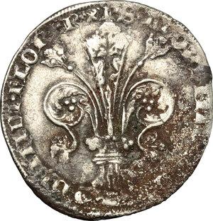 obverse: Firenze.  Repubblica ( sec.XIII-1532). Guelfo da 5 soldi, 1347-1368. Simbolo incerto