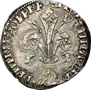 obverse: Firenze.  Repubblica (sec. XIII - 1532). Grosso da 5 soldi 6 denari, 1427 II semestre, Geri di Tesa Girolami maestro di zecca