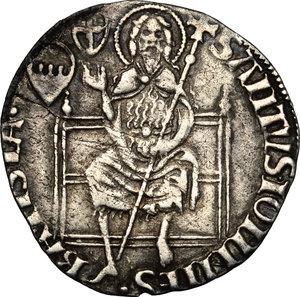 reverse: Firenze.  Repubblica (sec. XIII - 1532). Grosso da 5 soldi 6 denari, 1427 II semestre, Geri di Tesa Girolami maestro di zecca