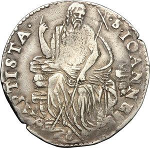 reverse: Firenze.  Cosimo I de  Medici (1537-1574). Testone II serie