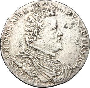 obverse: Firenze.  Ferdinando I de Medici (1587-1609). Piastra 1599