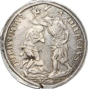reverse: Firenze.  Ferdinando I de Medici (1587-1609). Piastra 1604