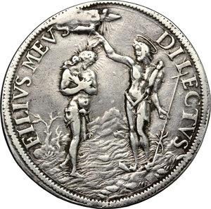 reverse: Firenze.  Cosimo III (1670-1723).. Piastra 1683