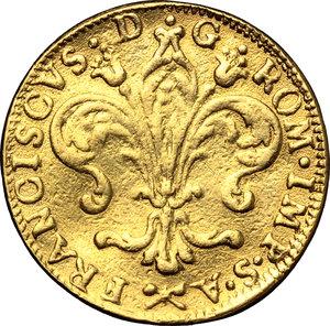 obverse: Firenze.  Francesco II (1737-1765). Ruspone 1756
