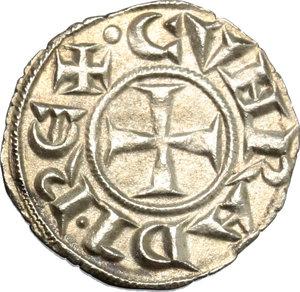 obverse: Genova.  Repubblica (1139-1339).. Denaro