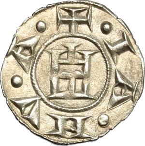 reverse: Genova.  Repubblica (1139-1339).. Denaro