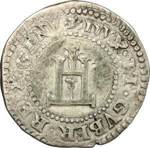 reverse: Genova.  Dogi Biennali (1528-1797).. Cavallotto, I fase (1528-1541)