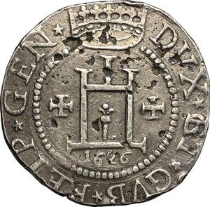 obverse: Genova.  Dogi Biennali (1528-1797).. Scudo 1626