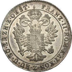reverse: Gorizia.  Francesco II d'Asburgo Lorena (1797-1805). 15 Soldi, Vienna, 1802