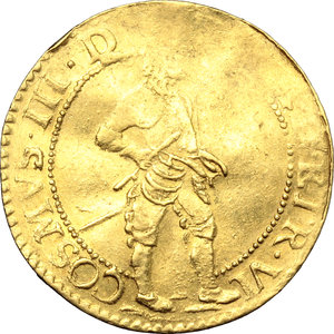 obverse: Livorno.  Cosimo III de  Medici (1670-1723). Ongaro 1675