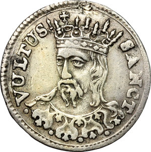 reverse: Lucca.  Repubblica (1369-1799).. Mezzo grosso 1766