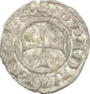 obverse: Macerata.  Giovanni XXII (1316-1334). Denaro