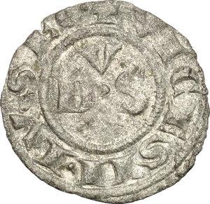 reverse: Macerata.  Giovanni XXII (1316-1334). Denaro