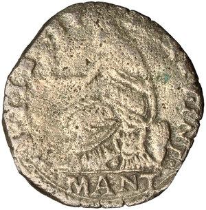 reverse: Mantova.  Francesco II (1484-1519). Doppio sesino