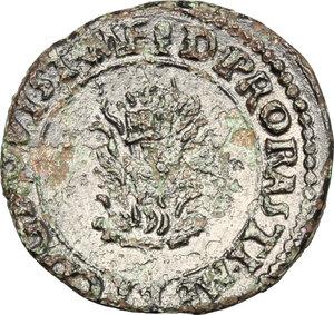 reverse: Mantova.  Francesco II (1484-1519). Quattrino