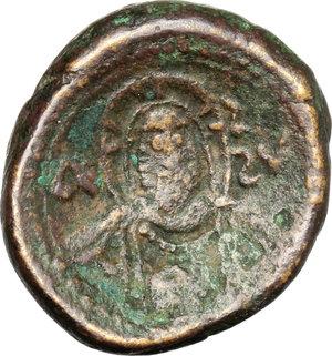 reverse: Messina.  Ruggero II, Duca Normanno (1105-1154). Doppio follaro