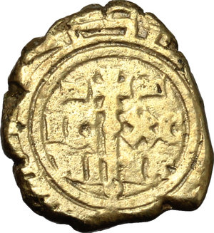 reverse: Messina.  Federico II (1197-1250). Multiplo di tarì