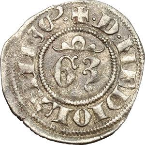 reverse: Milano.  Gian Galeazzo Visconti (1385-1402). Denaro